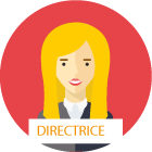 picto - directrice - rouge
